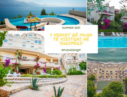 4 vendet që duhet të vizitoni në Shqipëri!